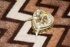 Heart Jewelry Box Royalty Free Stock Photography