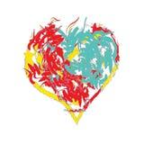 heart joyful Иллюстрация штока