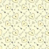 Heart and keys Royalty Free Stock Image