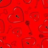 Heart and keys Royalty Free Stock Photo