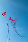 Heart Kites Royalty Free Stock Photos
