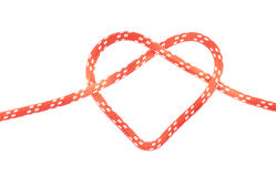Heart knot Royalty Free Stock Photography