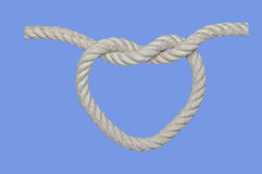 Heart Knot Stock Photography