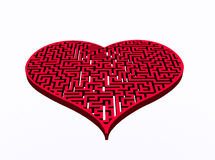 Heart&labyrinth Stock Photos