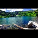 Heart Lake royalty free stock photography