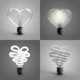 Heart lamp Royalty Free Stock Photo