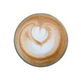 Heart latte art coffee Royalty Free Stock Photography