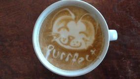 Heart Latte Royalty Free Stock Image