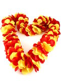 Heart Lei Stock Images