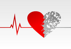 Heart life Stock Photography