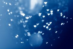 Heart light abstract background Royalty Free Stock Image
