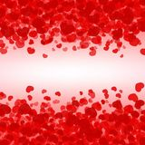Heart Light Fall Background Royalty Free Stock Images