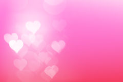 Heart light with Romantic Background Royalty Free Stock Photography