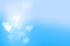 Heart light with Sky Background Stock Photos