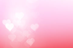 Heart light with Sweet Background Royalty Free Stock Photos