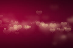 Heart lighting wallpaper Royalty Free Stock Photography
