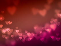 Heart lights Royalty Free Stock Images