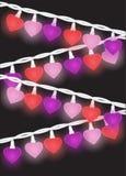 Heart Lights Stock Photo
