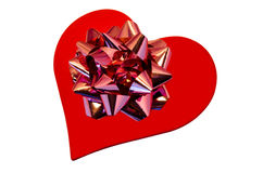 Heart like gift Royalty Free Stock Images