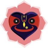 Heart-like Jagannath Stock Photos