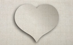 Heart of linen Royalty Free Stock Image