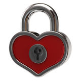 Heart lock Royalty Free Stock Photography