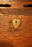 Heart lock Stock Images
