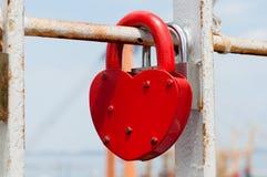Heart Lock Royalty Free Stock Photo