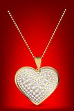 Heart Locket Royalty Free Stock Photography