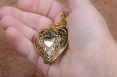 Heart Locket Royalty Free Stock Photos