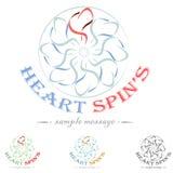 Heart Logo Royalty Free Stock Photography
