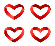 Heart logo template collection Stock Photo