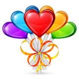 Heart Lollipops Stock Photos