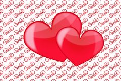 Heart love Stock Photography