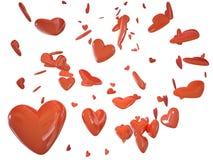 Heart love 3d cg Stock Photo