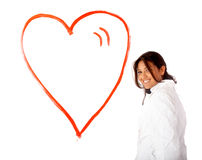 Heart of love Stock Photo