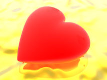 Heart in love Royalty Free Stock Images