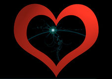 Heart love. A heart to remind us what we have inside us Royalty Free Stock Images