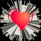 Heart of love Royalty Free Stock Photography