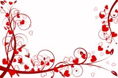 Heart love abstraction Royalty Free Stock Photo