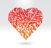 Heart love card icon  illustration Royalty Free Stock Image