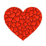 Heart without love Royalty Free Stock Photos