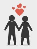 Heart love design Stock Photos