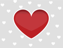 Heart love design Stock Photography