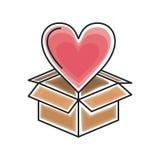 Heart love design Stock Images