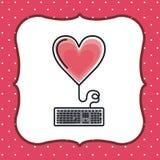 Heart love design Royalty Free Stock Photos