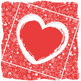 Heart love   - Doodles collection Royalty Free Stock Photos