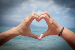 Heart, Love, Hands, Valentine'S Day Stock Image