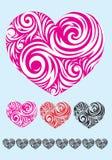 Heart love ornament Stock Photo