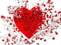 Heart with love Stock Photos